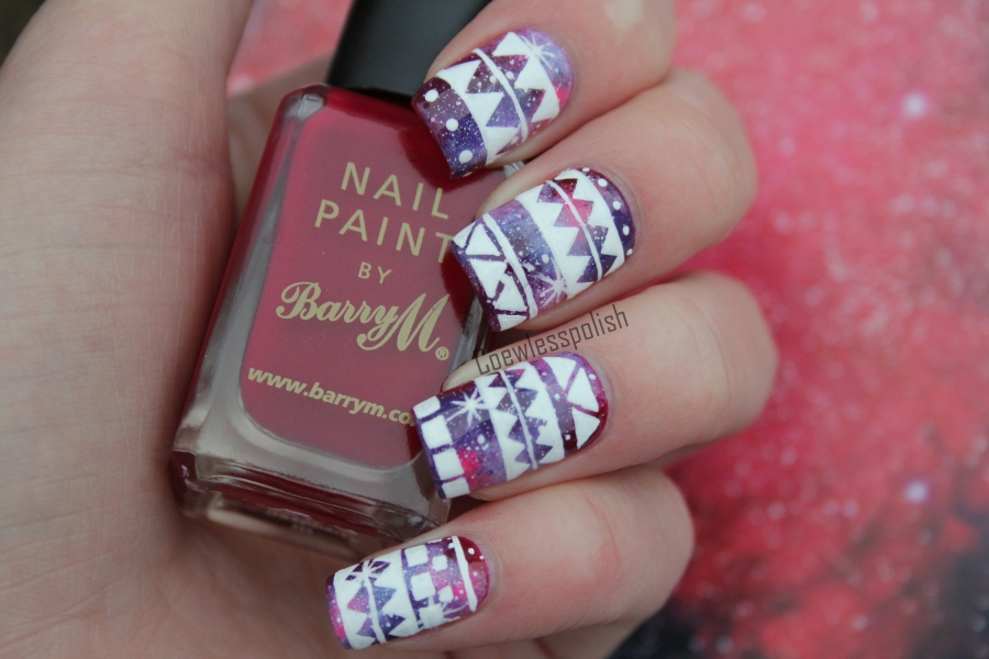 NOTD – Tribal Galaxy + tutorial (HAPPY NEW YEAR ...