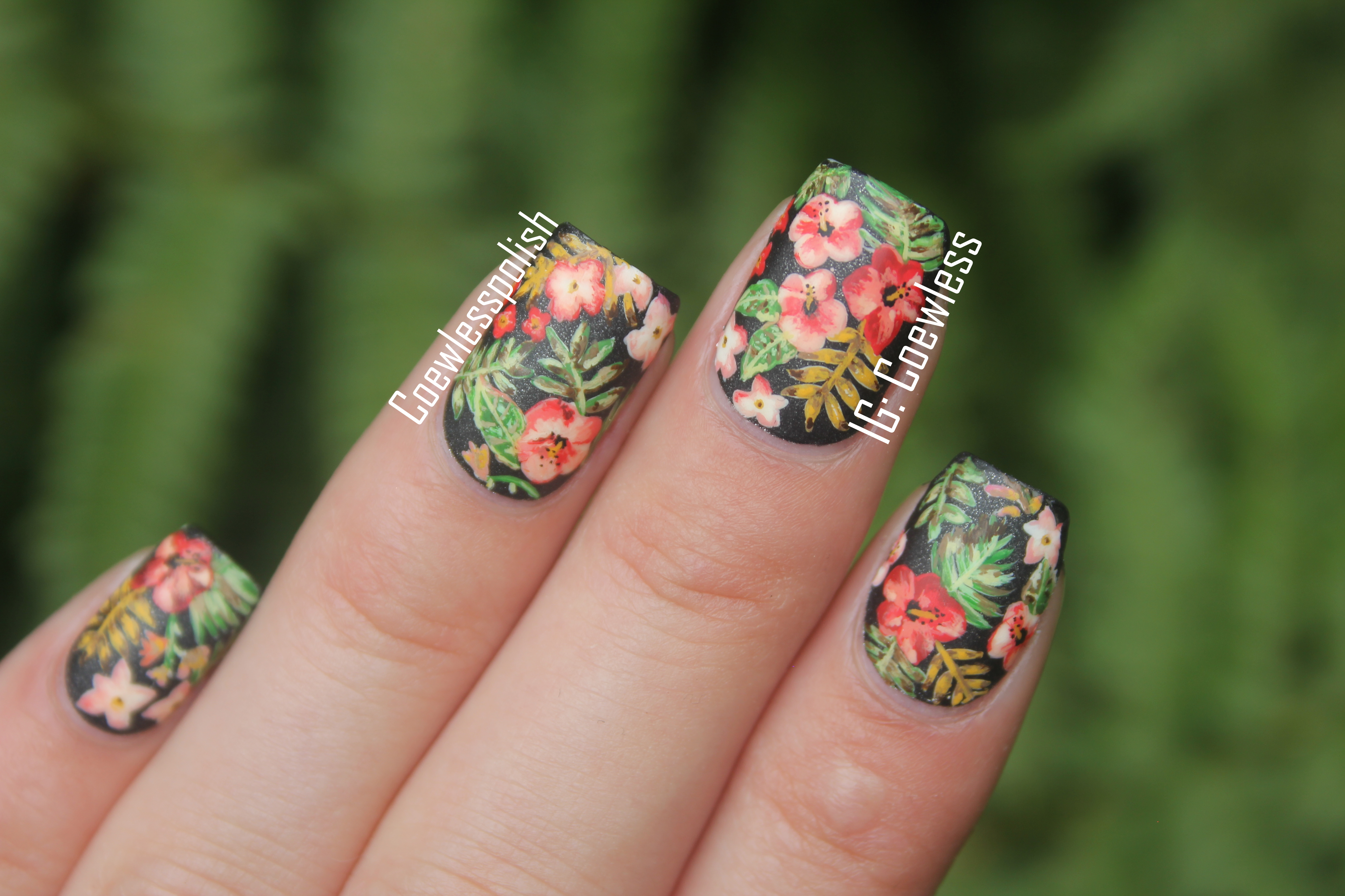NOTD – Maps (Inspired by Maroon 5) | Coewless nail polish blog