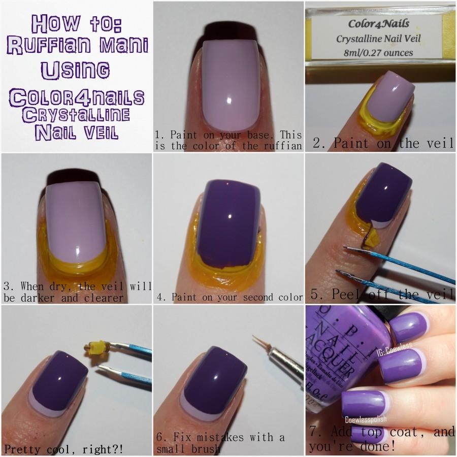 Ruffian Manicure tutorial